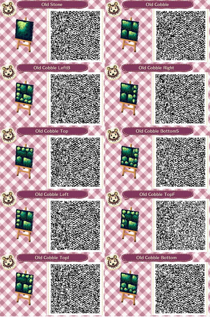 Cobblestones Animal Crossing Paths Animal Crossing 3ds