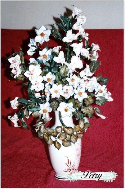Ramo flores de maicena