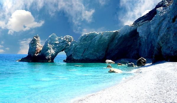 The one beach I regret not going to whilst I was in Skiathos, Greece