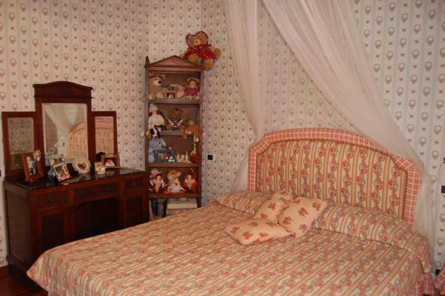 Bedroom of Villa Mary In Versilia, Tuscany.