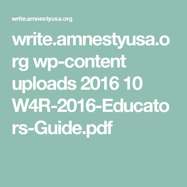 write.amnestyusa.org wp-content uploads 2016 10 W4R-2016-Educators-Guide.pdf