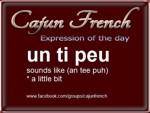 A Cajun French-English Glossary - Louisiana State University