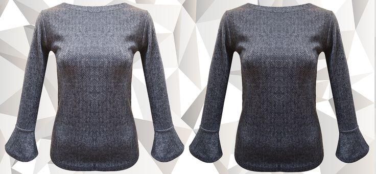 Bluză confecționată din bumbac, cu mâneci lungi. Este realizată din material cu imprimeu alb-negru, care îi dă un aspect deosebit. Se poate achiziționa online de la Adrom Collection în regim en-gros de aici: http://www.adromcollection.ro/440-bluza-angro-6125.html