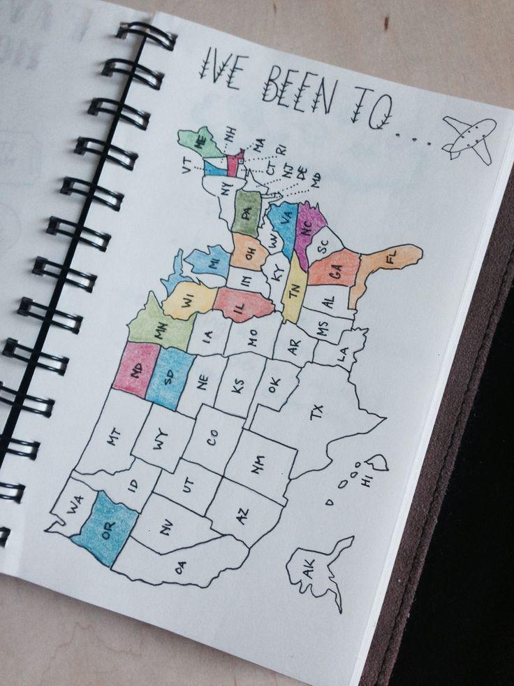 Einfache Bullet Journal-Ideen zur Vereinfachung Ihrer täglichen Aktivitäten #b… – Bullet Journal Reiseplanung