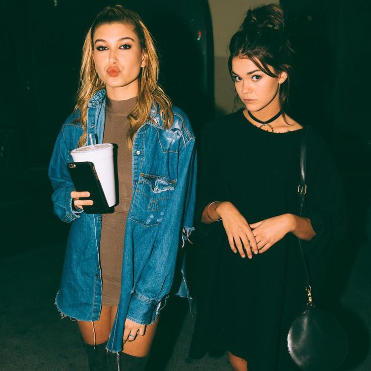 | Hailey Baldwin & Maia Mitchell |