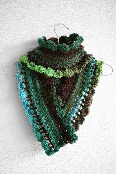 Crochet scarf in Boho style Womens Crochet by MarryGKnitCrochet, $38.00