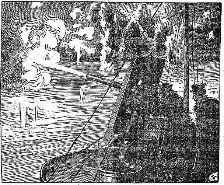 Austrian troops attack Serbia not only on land, but also with warships on the Danube. #WW1 http://goo.gl/5nbktz