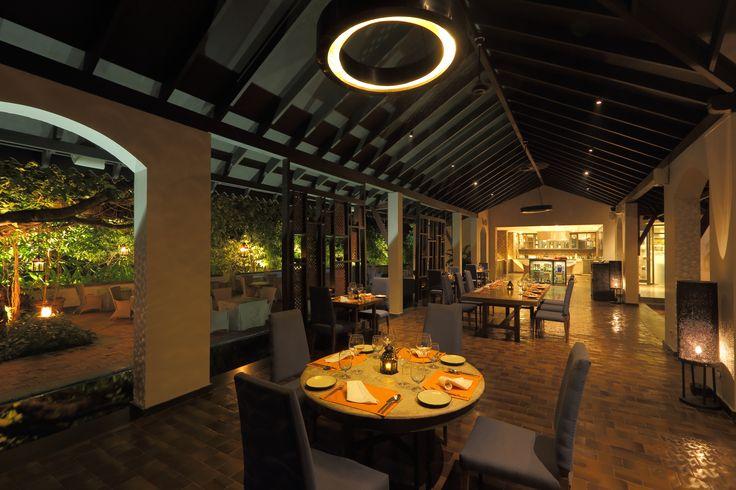 Restaurant at Alila Diwa Goa