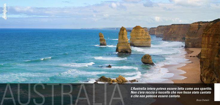 """""""L'Australia intera poteva essere letta come uno spartito. Non c'era roccia o ruscello che non fosse stato cantato o che non potesse essere cantato"""". (Bruce Chatwin)"""