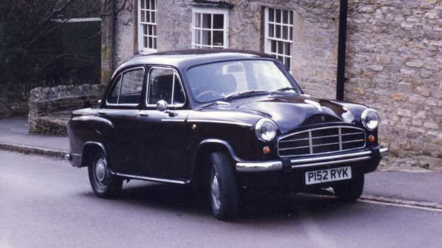 Hindustan Ambassador-What started life as a Morris Oxford would go on to provide transport for an entire nation. The Hind... - Newspress