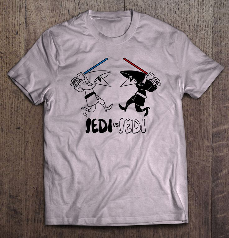 Star Wars - Jedi Vs Jedi Mad Magazine Parody T Shirt