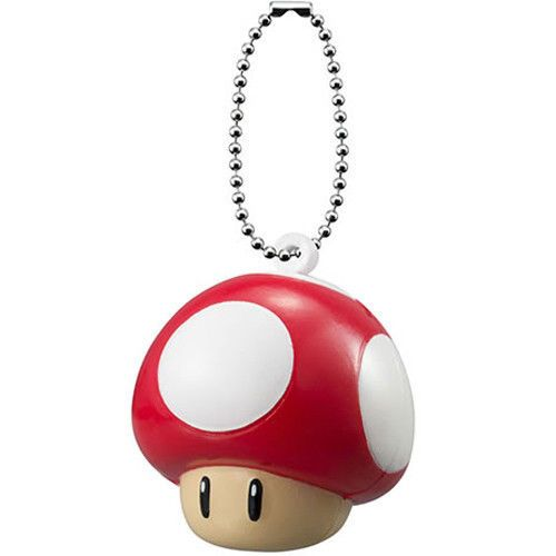 Up Mushroom Key Ring
