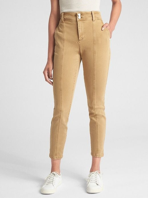 939fb1b89979b High Rise Skinny Chinos in 2019 | Products | Skinny chinos, Pants ...