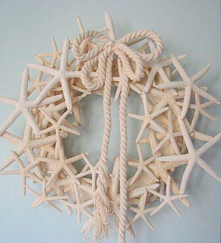 Coastal Cottage Chic: Starfish Wreath