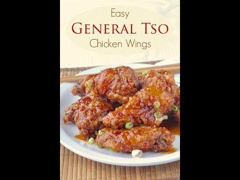 General Tso Chicken Wings - Rock Recipes - Rock Recipes