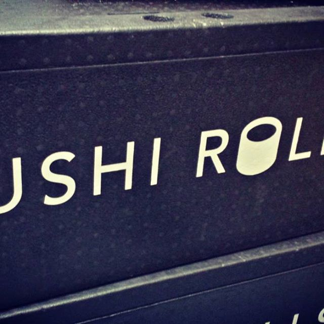 Boxes of delicious, fresh #sushi treats on their way to Cerberus Capital, @vungle and @importio for #lunch. #sushitime #foodie #london #londonfood
