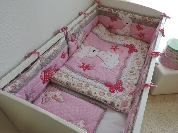 This lovely crib bedding set is perfect for your little baby girl and will make your little baby girl's dreams even sweeter. Order here: https://www.etsy.com/listing/498843635/nursery-bedding-set-girl-crib-bedding?ref=listing-shop-header-3