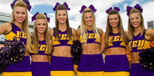 ECU Pirates Announce Roster Names for 2014-15 Cheerleading Squad