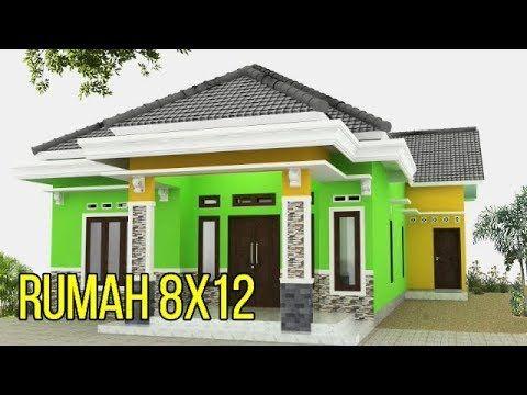 Desain Rumah Minimalis Modern 8x12 1 Lantai 3 Kamar Tidur Mewah Masa Kini Haq Desain Youtube Di 2020 Rumah Minimalis Desain Rumah Rumah