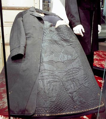 A Silk Quilt for President Lincoln--coat lining. Ford's Theatre.