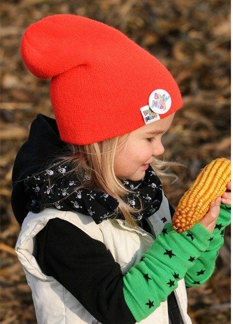 """Czapa z kolekcji """"street-short"""" to hit na kończącą się zimę i nadchodzącą wiosnę! Lubisz ubierać #stylowo swoje #dziecko ? Na pewno znajdziesz coś ciekawego w naszej kampanii Brain Inside"""