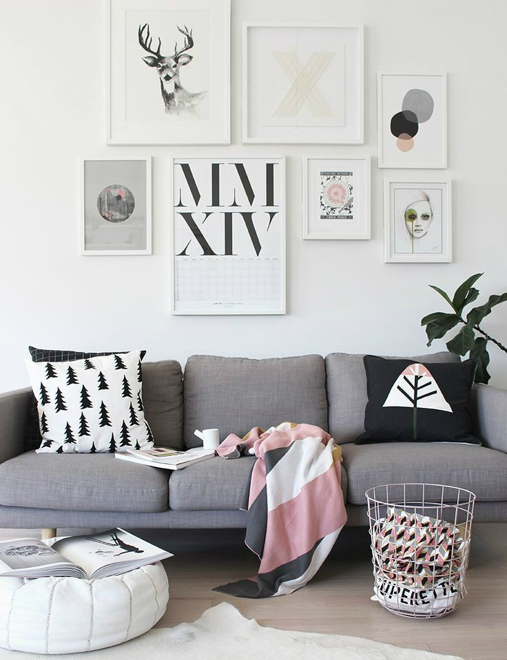 One type of home ornamentation that has been gaining steam lately are art gallery walls. Creating your own personal wall gallery with your favorite pictures or prints is unique because you don't ha...