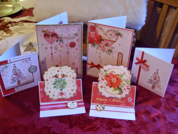 Hunkydory Christmas card kit.