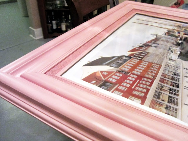 spray paint picture frames make the cheap ones look nicer and blend in with the - Wooden Picture Frames To Paint