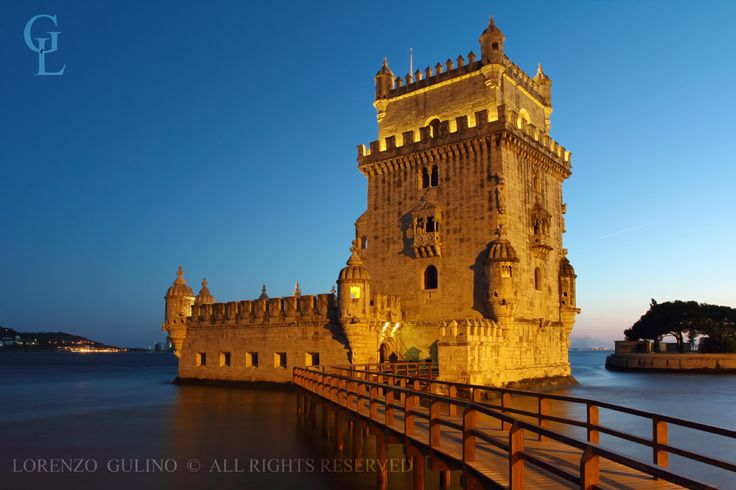 Photo Belem Tower night scene by Lorenzo Gulino on 500px