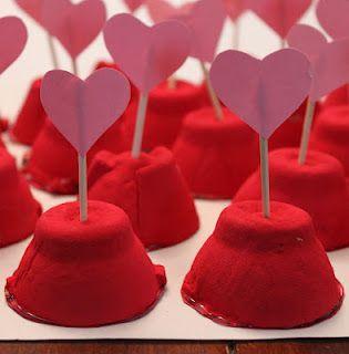 Valentine Surprise Cups: Diy Valentines, Crafts Ideas, Valentines Surpri, Kids Ideas, Kids Crafts, Hershey Kiss, Surprise Cups, Valentine'S Surprise, Kiss Crafts