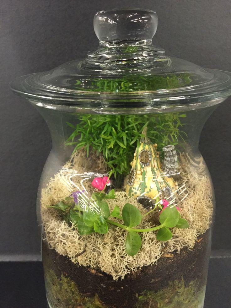 Fairy terrarium by Angela Cherington