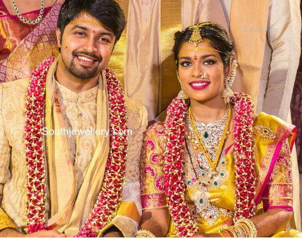 Chiranjeevi Daughter Sreeja Wedding Jewellery