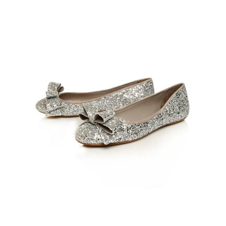 Carvela Kurt Geiger flat wedding shoes