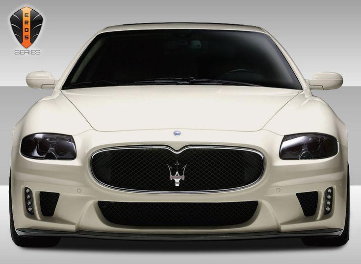 2005-2007 Maserati Quattroporte Eros Version 1 Front Bumper Cover - 1 Piece