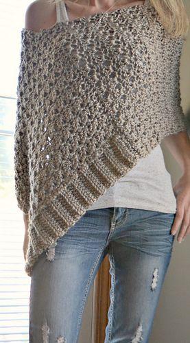 Someone crochet me a poncho pleeeeease!