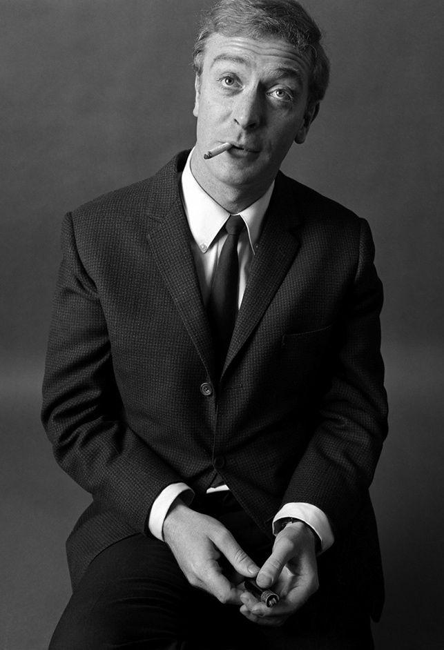 Michael Caine. Photo: Brian Duffy.