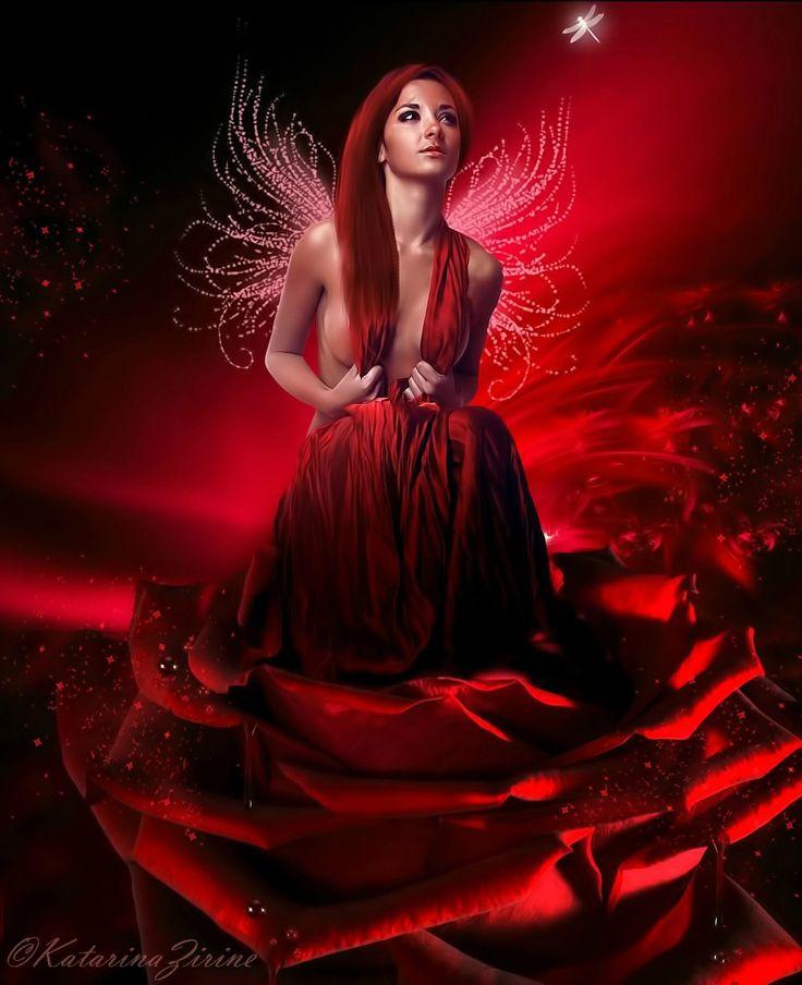 *+*Mystickal Faerie Folke*+*... The Rose Fairy... By ...