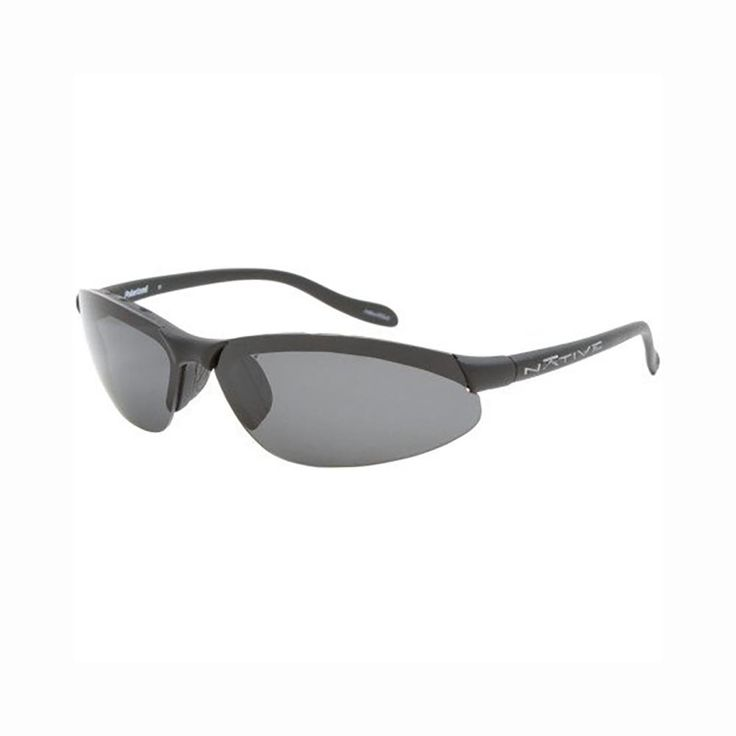 Native Eyewear Dash XR Sunglasses - Polarized Asphalt/Gray, One Size, One Size. The Native Eyewear Dash XR Polarized Sunglasses combine an ultralight, minimalist frame with interchangeable lenses to provide versatility and reduce bulk. Switch between the polarized lenses on a bright day to reduce glare and the colored lenses to take on everything from dawn trail runs to woodworking in the shop. The well-vented frames assure you that fogging isn't a problem no matter how hard you work to…