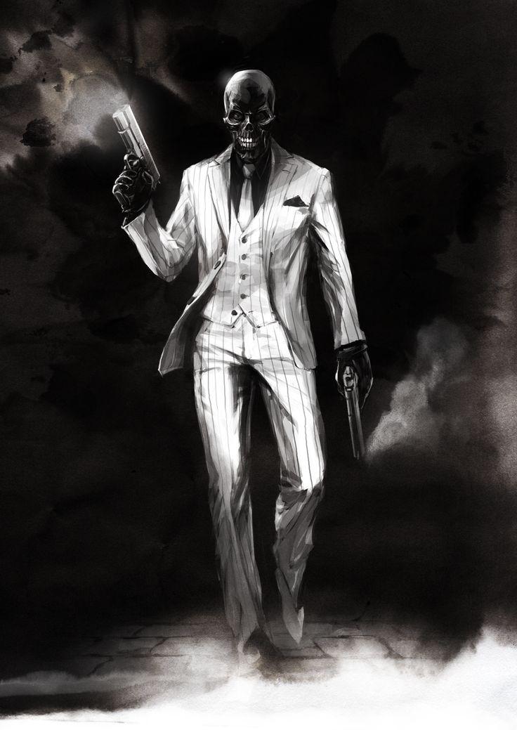 Black Mask by naratani.deviantart.com on @DeviantArt