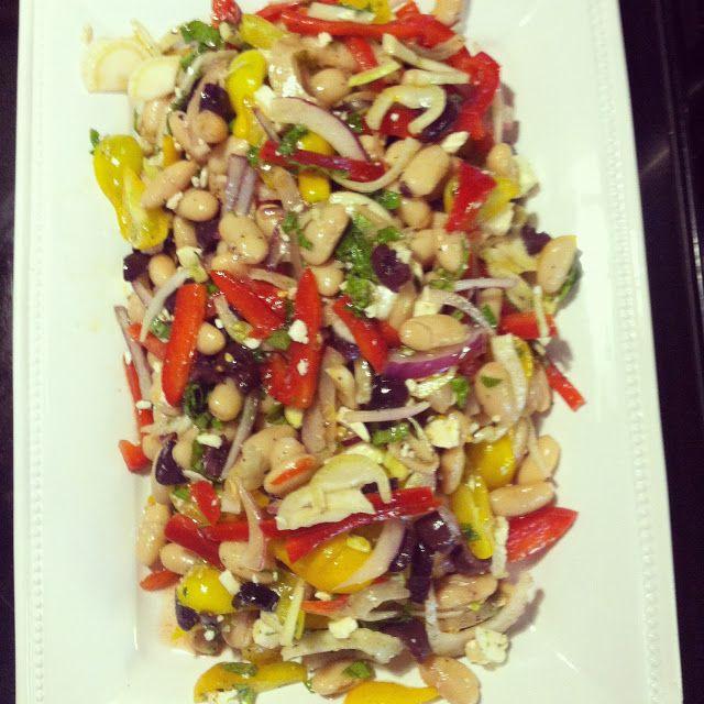Mediterranean Kidney Bean Salad Recipe — Dishmaps