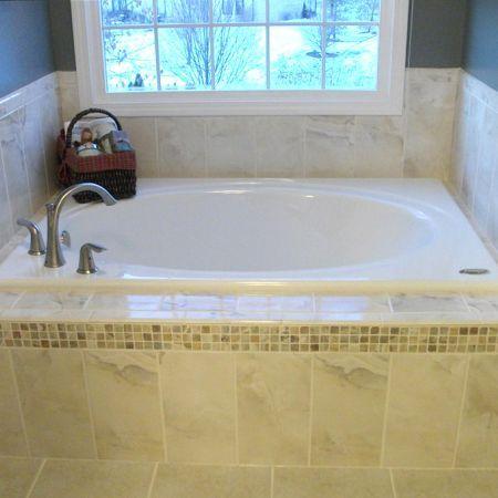 best 25 bathtub surround ideas on pinterest guest bath. Black Bedroom Furniture Sets. Home Design Ideas