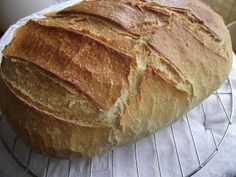 Tanulj meg (kenyeret) sütni!: Ropogós héjú, kovászolt kenyér