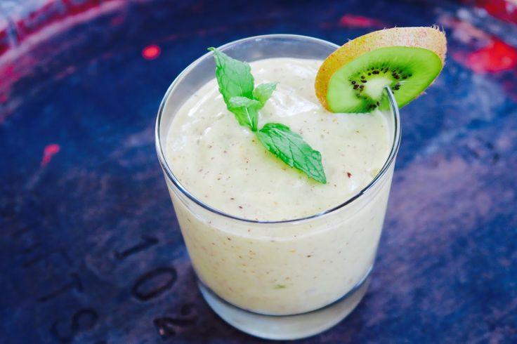 at ease: Kiwi - Banana Nice Cream
