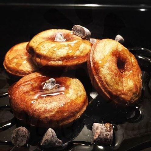 Gluten Free Chocolate Chip Mini Donuts