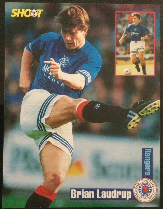 Brian Laudrup of Rangers in 1994.