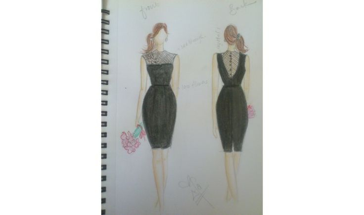 Little Black Dress by Roxyifa! Vote for it at http://www.mewze.com/view/?chal=little-black-dress