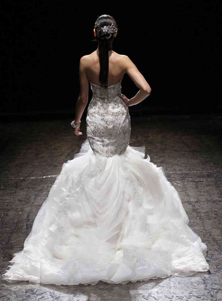 Lazaro Wedding Dresses Spring 2014 Collection - MODwedding