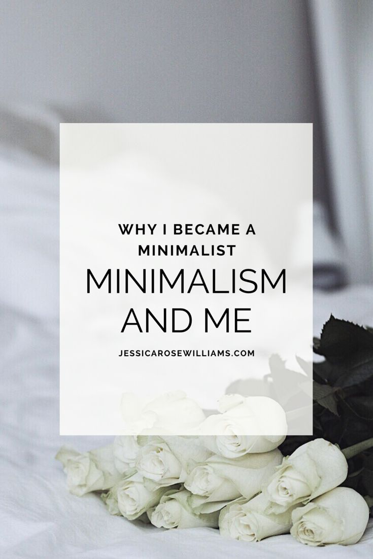 Minimalism and Me. Becoming a minimalist.