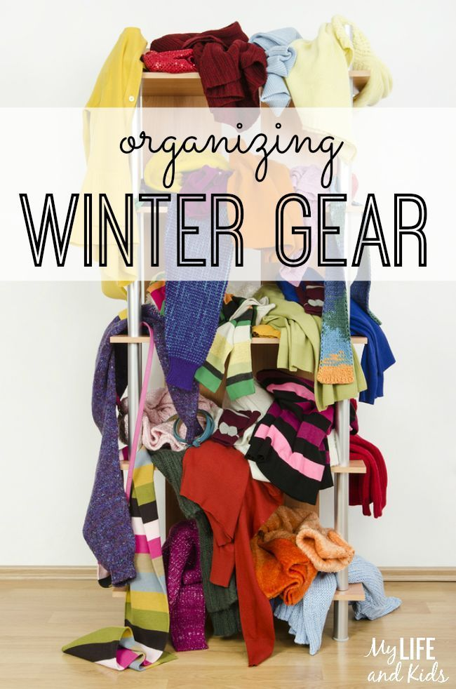 Organizing Winter Gear This Year I Will Win Scarf Storage
