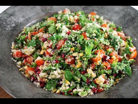 Fattuş Salatası Nasıl Yapılır ? (Fattoush) - İdil Tatari - Yemek Tarifleri - YouTube